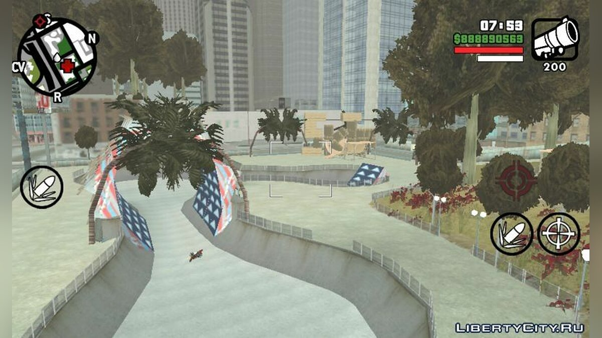 Mod New Skate Park for GTA San Andreas (iOS, Android)