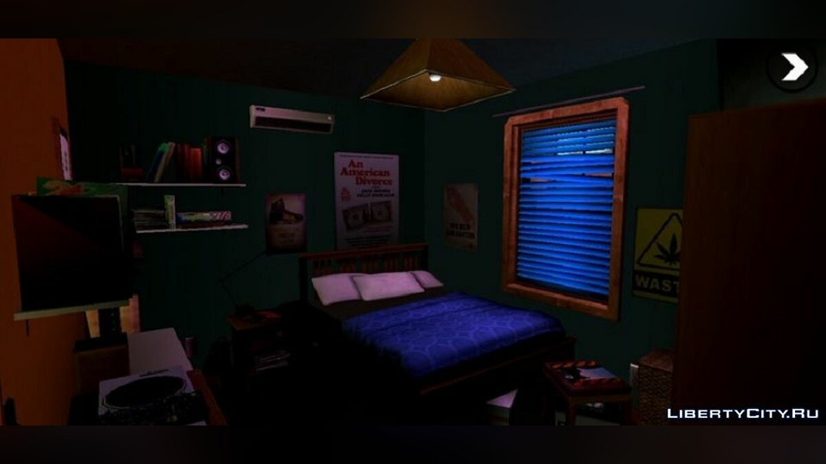 Mod Interior from GTA 5 for GTA San Andreas (iOS, Android)