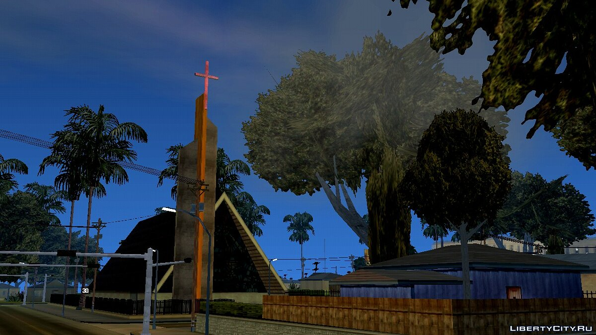 Mod Improved graphics for GTA San Andreas (iOS, Android)