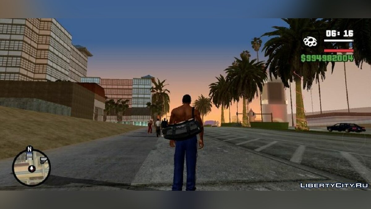 Mod Real Linear Graphics - Realistic colors for GTA San Andreas (iOS, Android)