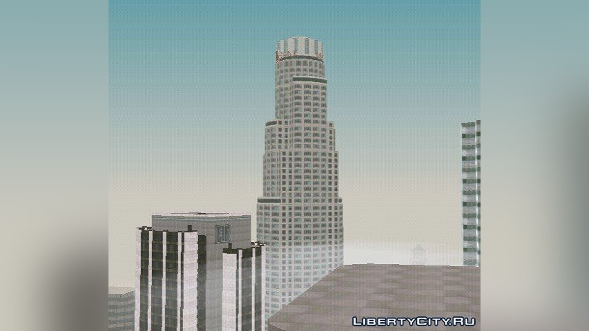 Mod GTA 5 Maze Bank Tower for GTA San Andreas (iOS, Android)