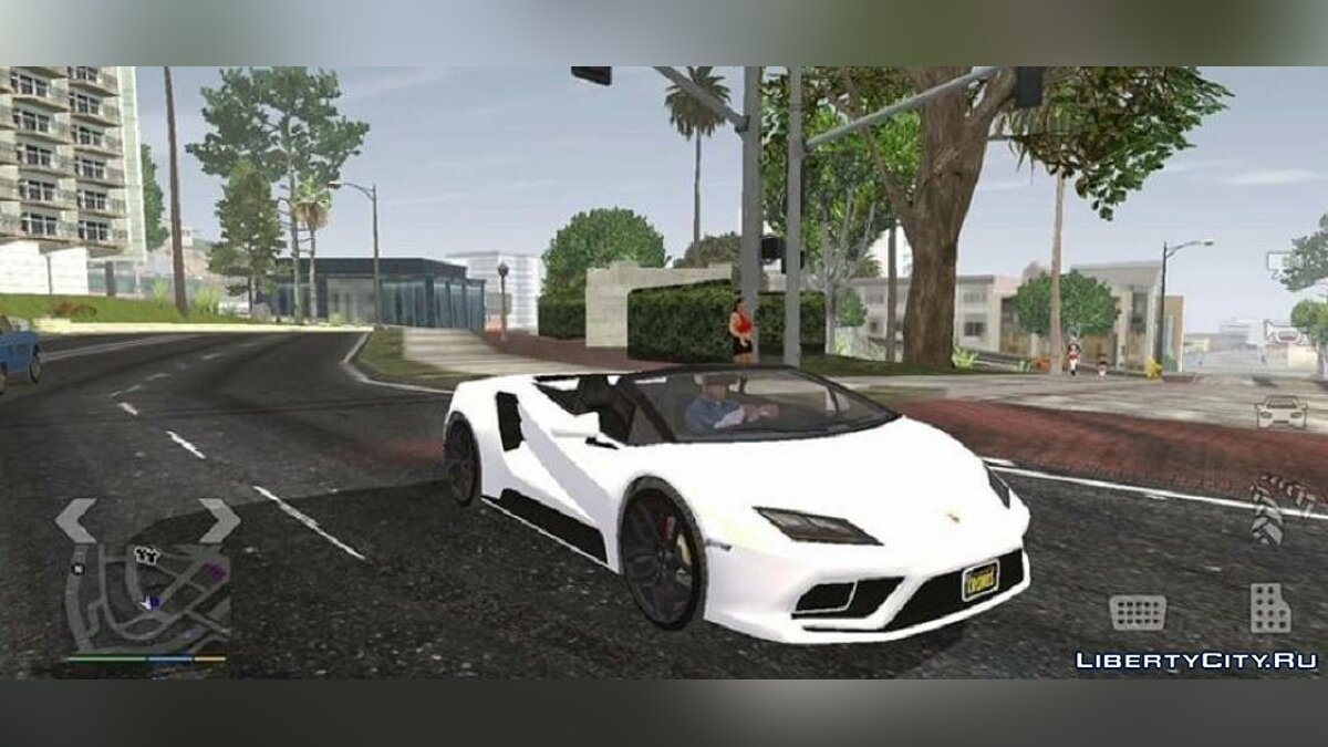 Mod Graphics for weak devices in the style of GTA 5 for GTA San Andreas (iOS, Android)