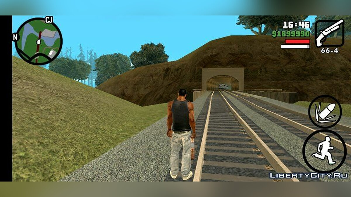 Mod The whole map is open at the beginning of the game. for GTA San Andreas (iOS, Android)