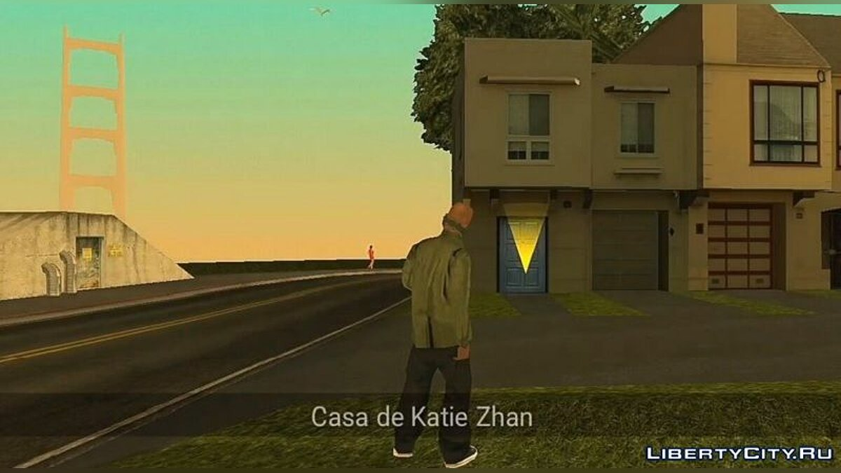 Mod Visit girlfriends' houses for GTA San Andreas (iOS, Android)