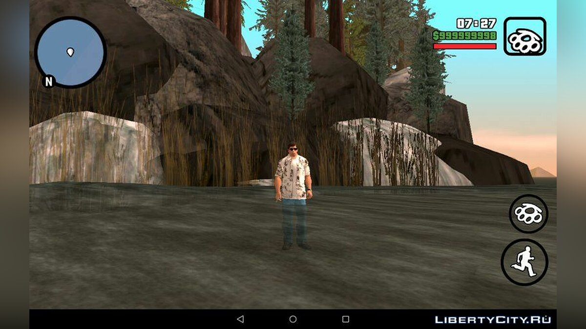 Остров Бэй for GTA San Andreas (iOS, Android) - screenshot #2