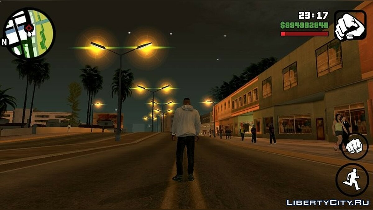 Mod Realistic Times for GTA San Andreas (iOS, Android)