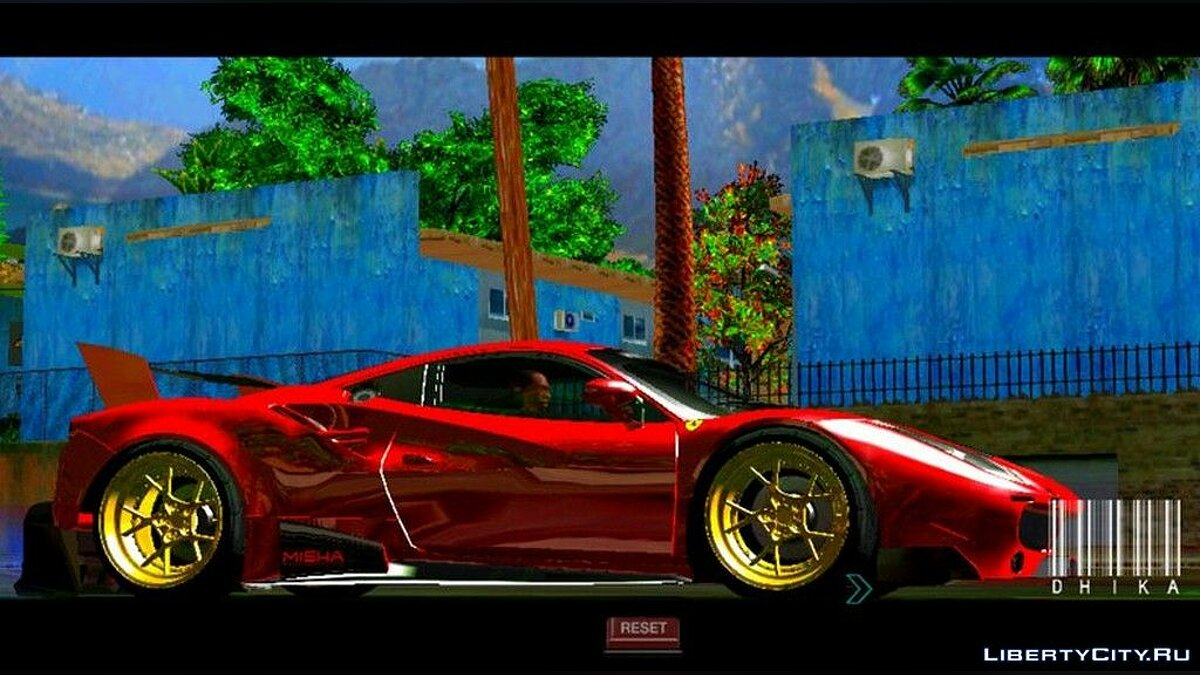 Mod More saturated colors for GTA San Andreas (iOS, Android)