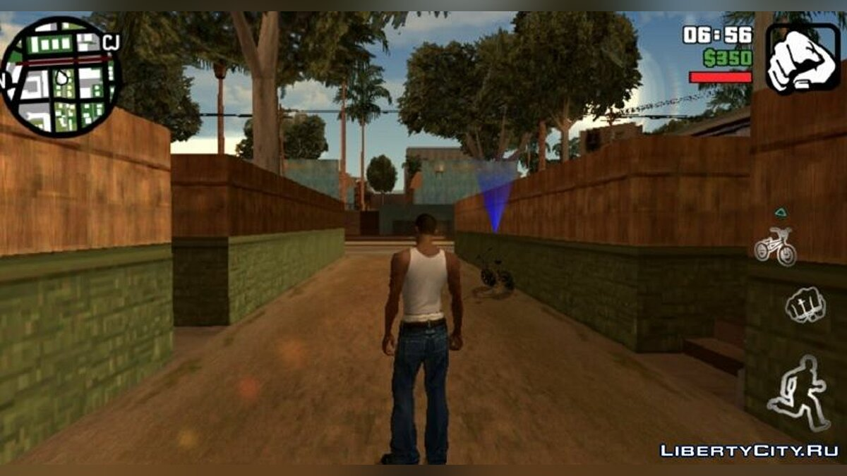 Mod Redux graphics for GTA San Andreas (iOS, Android)