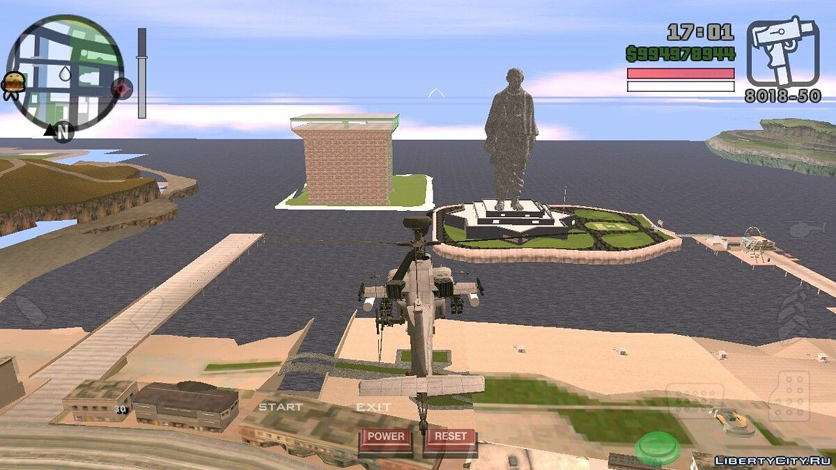 Mod Statue of Unity in San Andreas V2 for GTA San Andreas (iOS, Android)