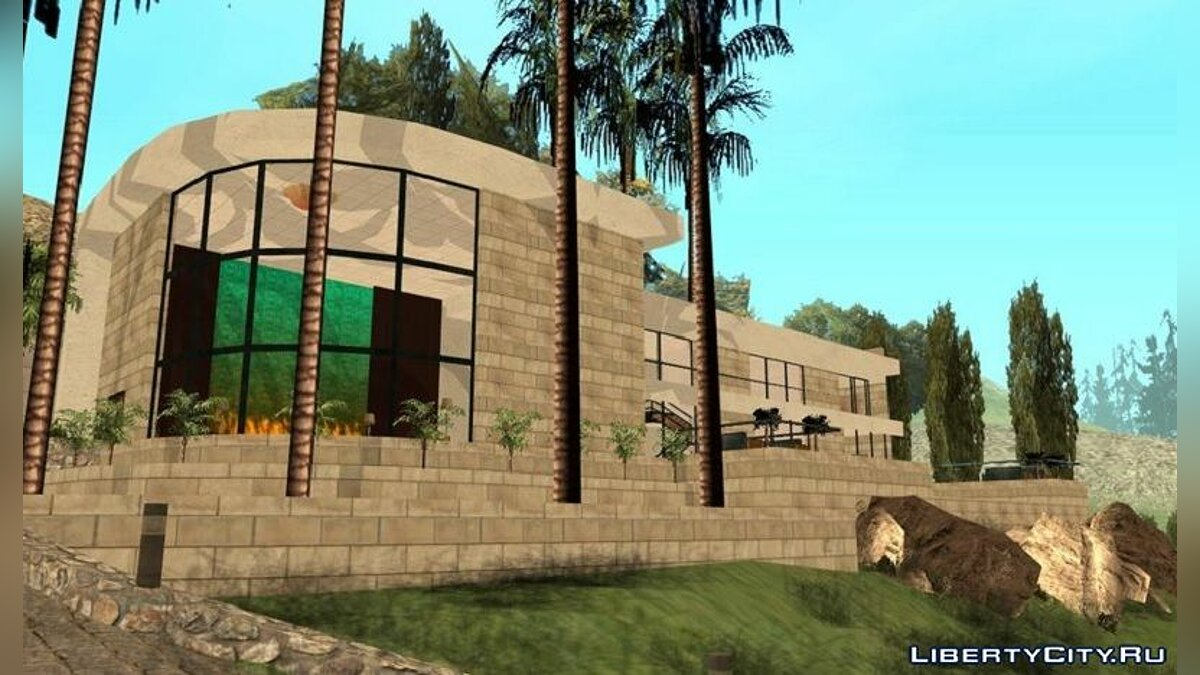 Mod Big mansion for GTA San Andreas (iOS, Android)