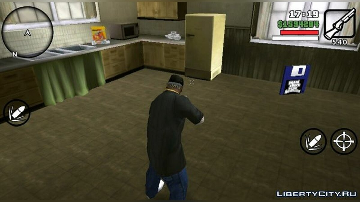 Mod New effects for GTA San Andreas (iOS, Android)