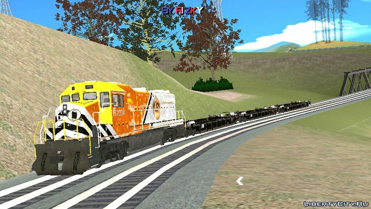 Mod Train from GTA 5 for GTA San Andreas (iOS, Android)