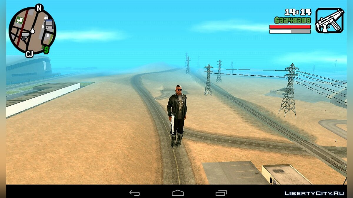 Flying CJ (Android) for GTA San Andreas (iOS, Android) - Картинка #2