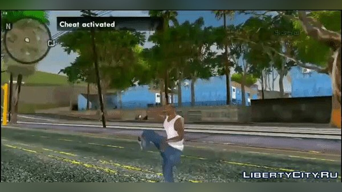 Mod Dances from Fortnite for GTA San Andreas (iOS, Android)