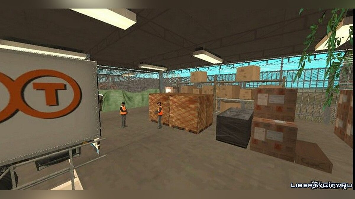 Mod Transport terminal for trailers for GTA San Andreas (iOS, Android)