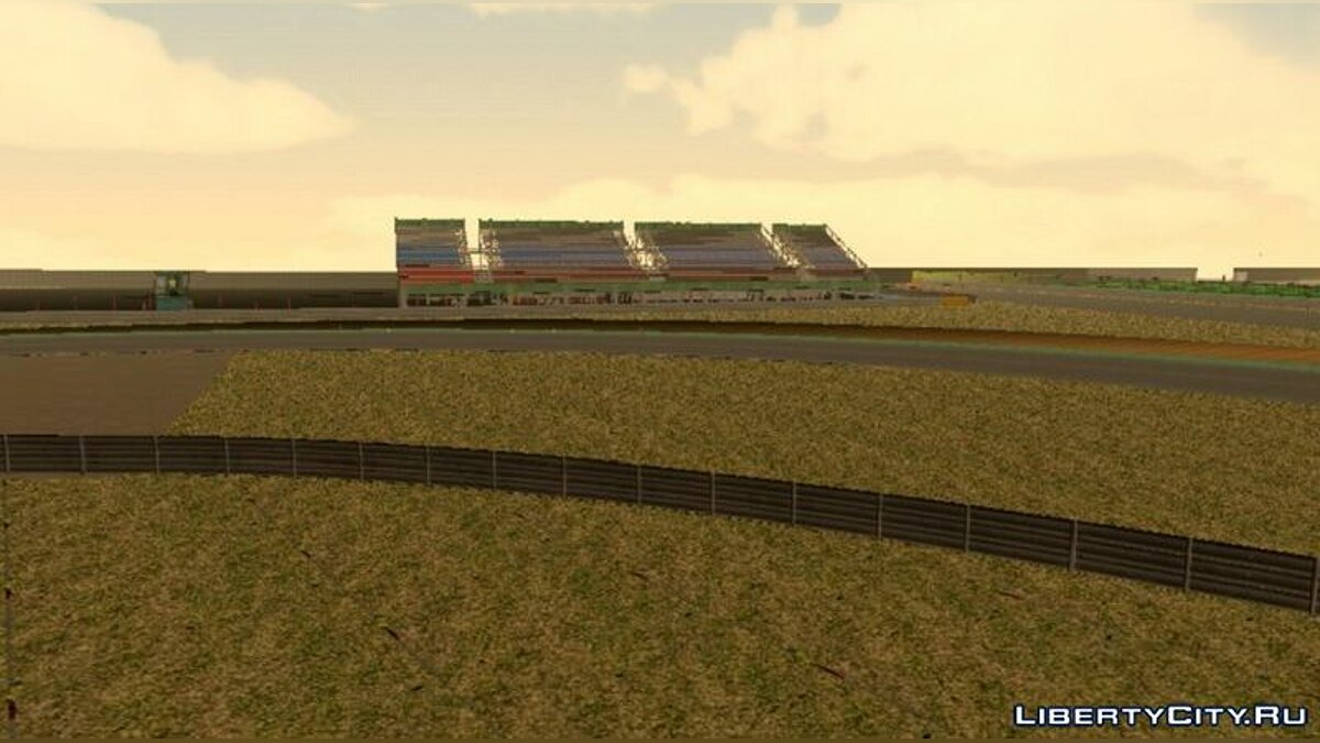Mod Nring Circuit for GTA San Andreas (iOS, Android)