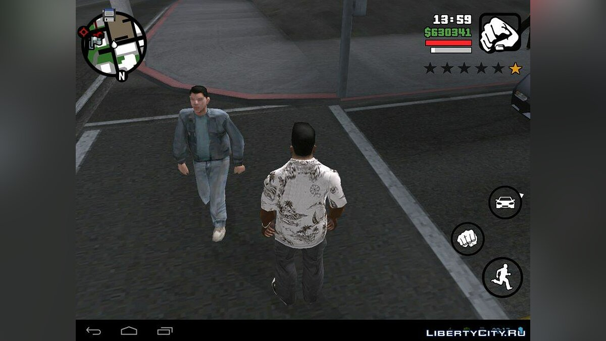 Beta Pedestrians (Android) for GTA San Andreas (iOS, Android) - Картинка #2