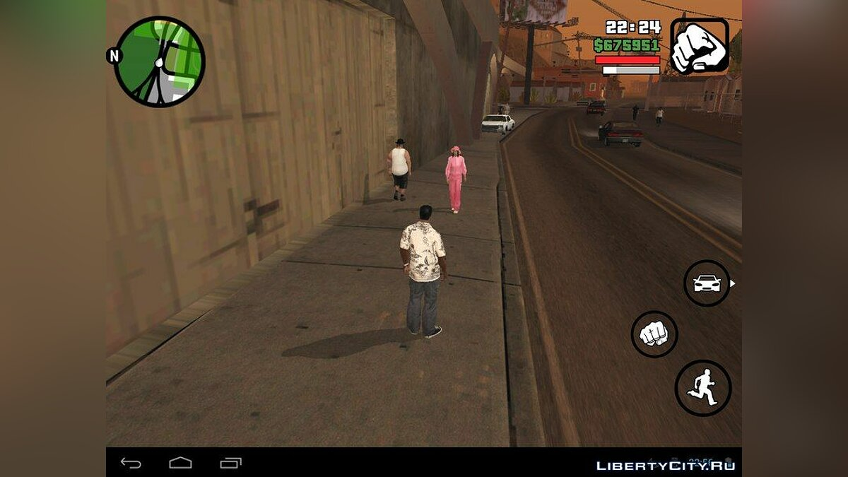 Beta Pedestrians (Android) for GTA San Andreas (iOS, Android) - Картинка #8
