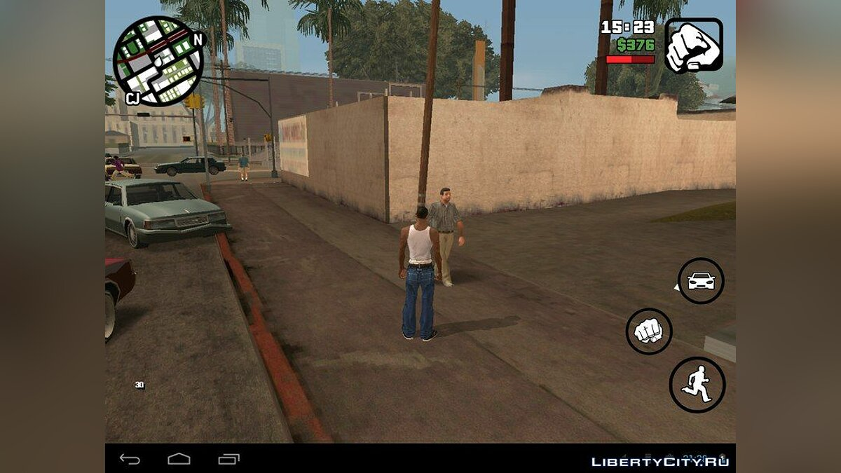 Beta Pedestrians (Android) for GTA San Andreas (iOS, Android) - Картинка #4
