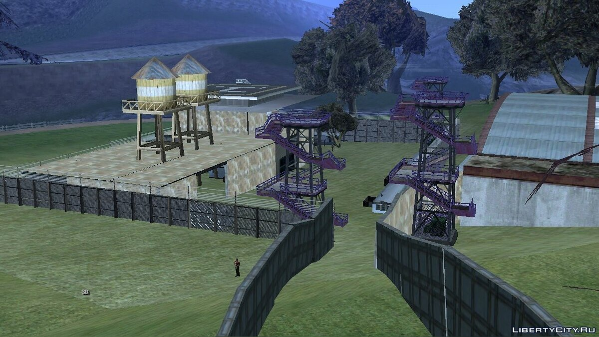 Mod New army bases for GTA San Andreas (iOS, Android)