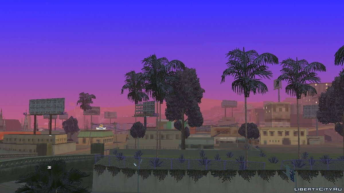 Mod Timecyc with vivid colors for GTA San Andreas (iOS, Android)