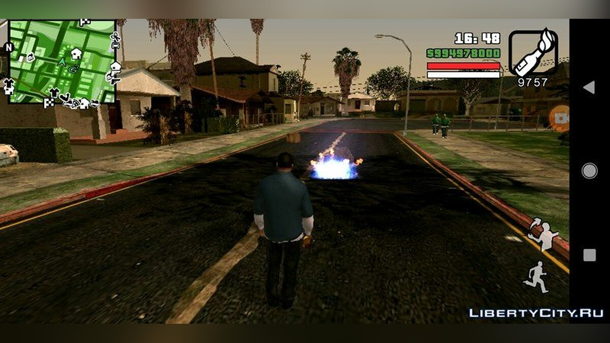 Mod Effects like in GTA 5 for GTA San Andreas (iOS, Android)