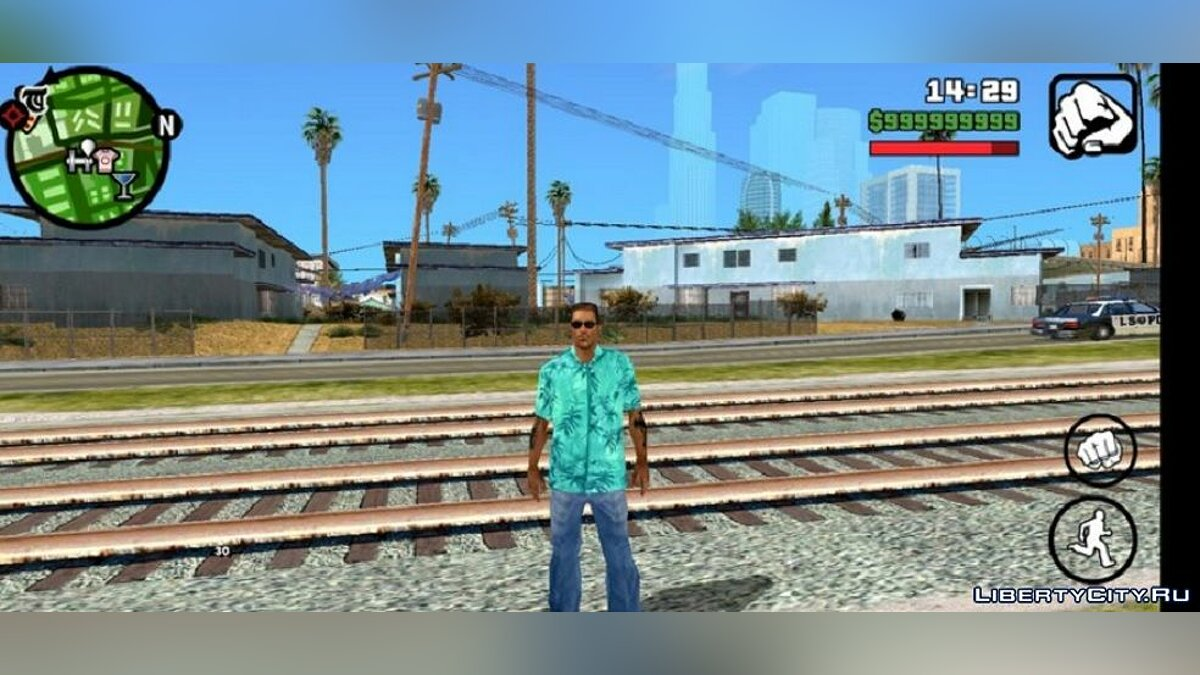 Mod New face and clothes for Cj v2 for GTA San Andreas (iOS, Android)