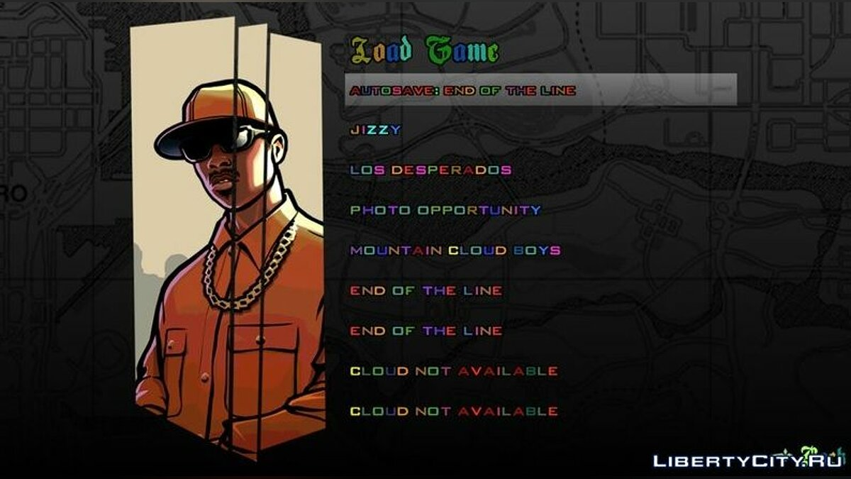 Color Fonts For Gta San Andreas Ios Android