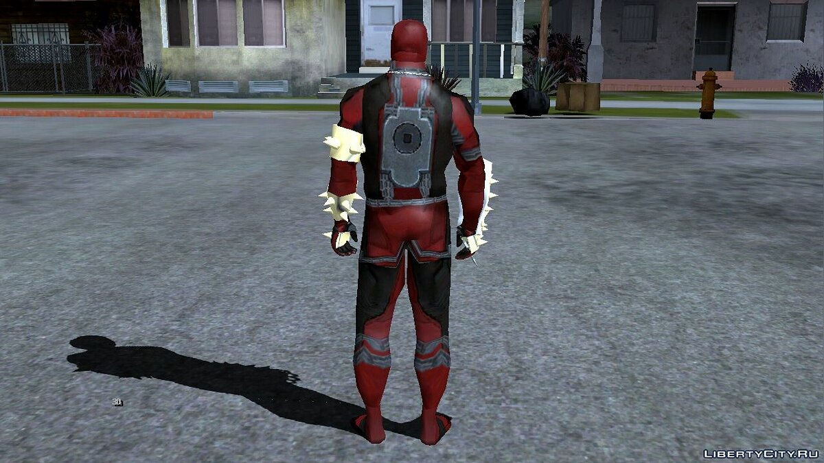 Mod Deadpool to replace Karl for GTA San Andreas (iOS, Android)