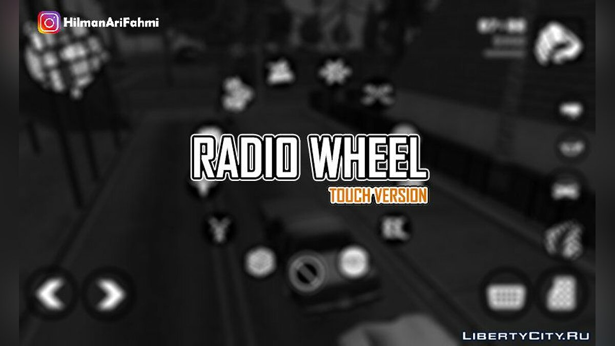 Mod Radio Wheel (Touch Version) For Android for GTA San Andreas (iOS, Android)