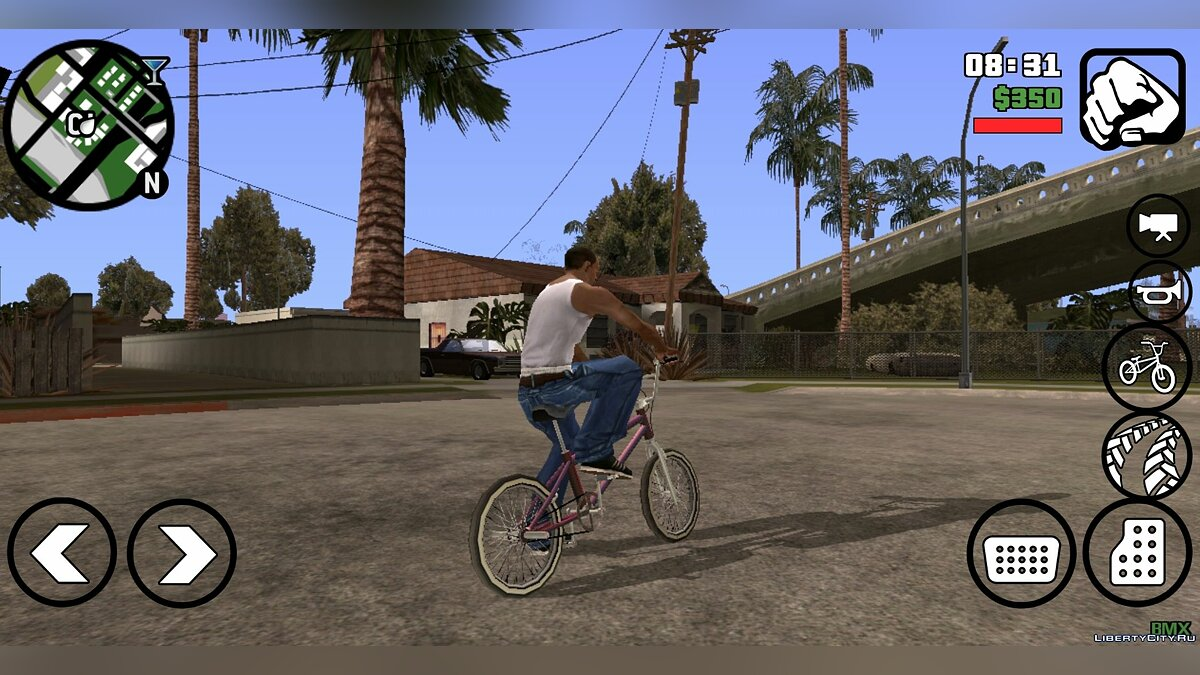 Mod Realistic Mod v.1.0 for GTA San Andreas (iOS, Android)