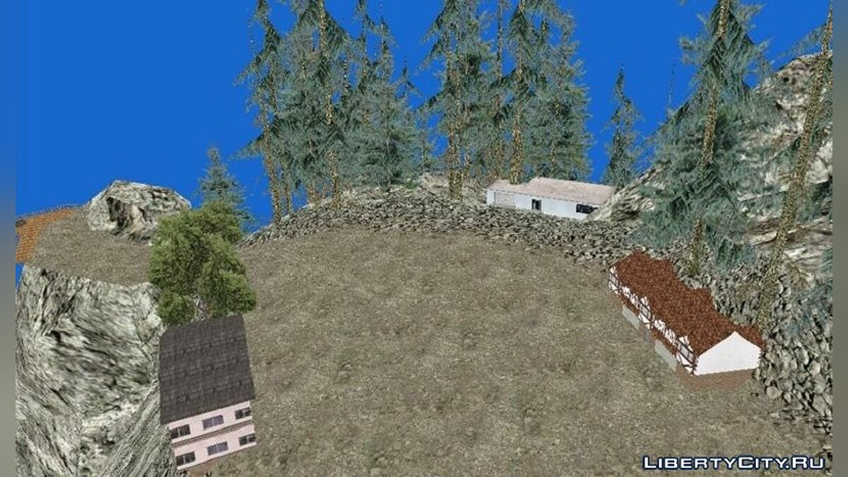 Mod Vegetation in Whetstone for GTA San Andreas (iOS, Android)