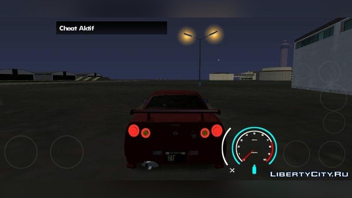 Mod Speedometer from the game Need For Speed ​​V2 for GTA San Andreas (iOS, Android)