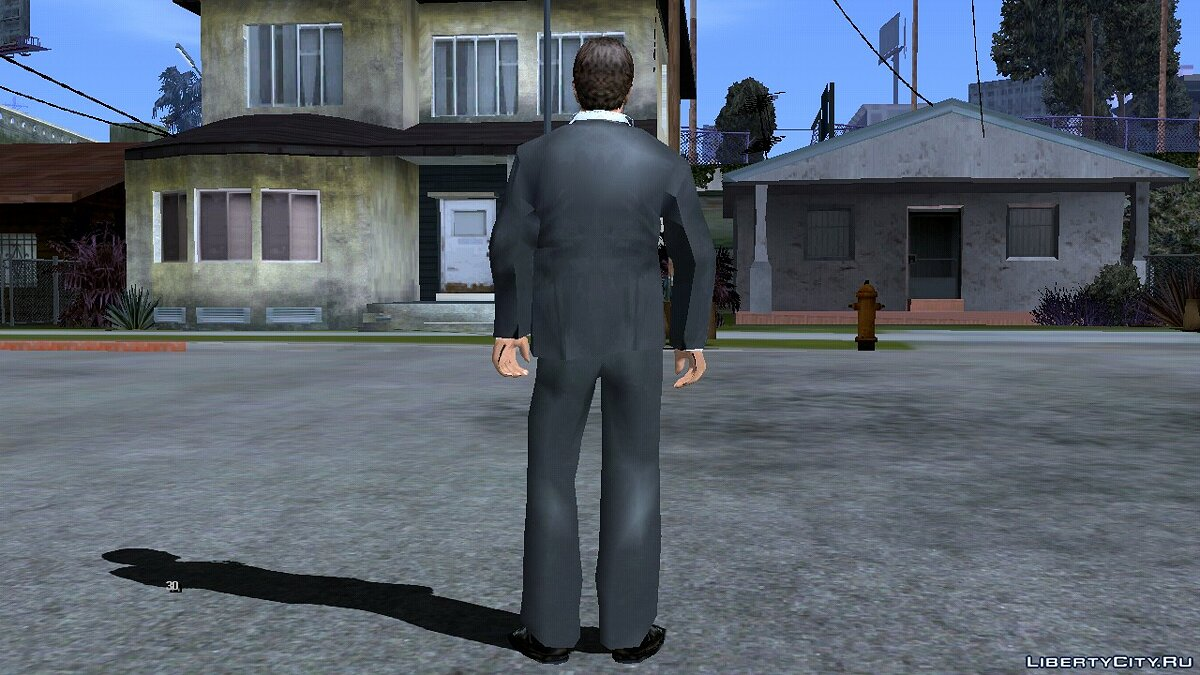 Mod Tony Montana to replace Karl for GTA San Andreas (iOS, Android)