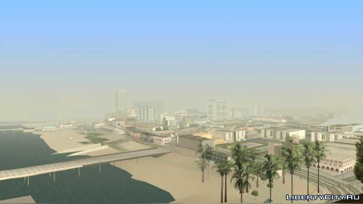 Mod Realistic weather conditions [Timecyc] for GTA San Andreas (iOS, Android)
