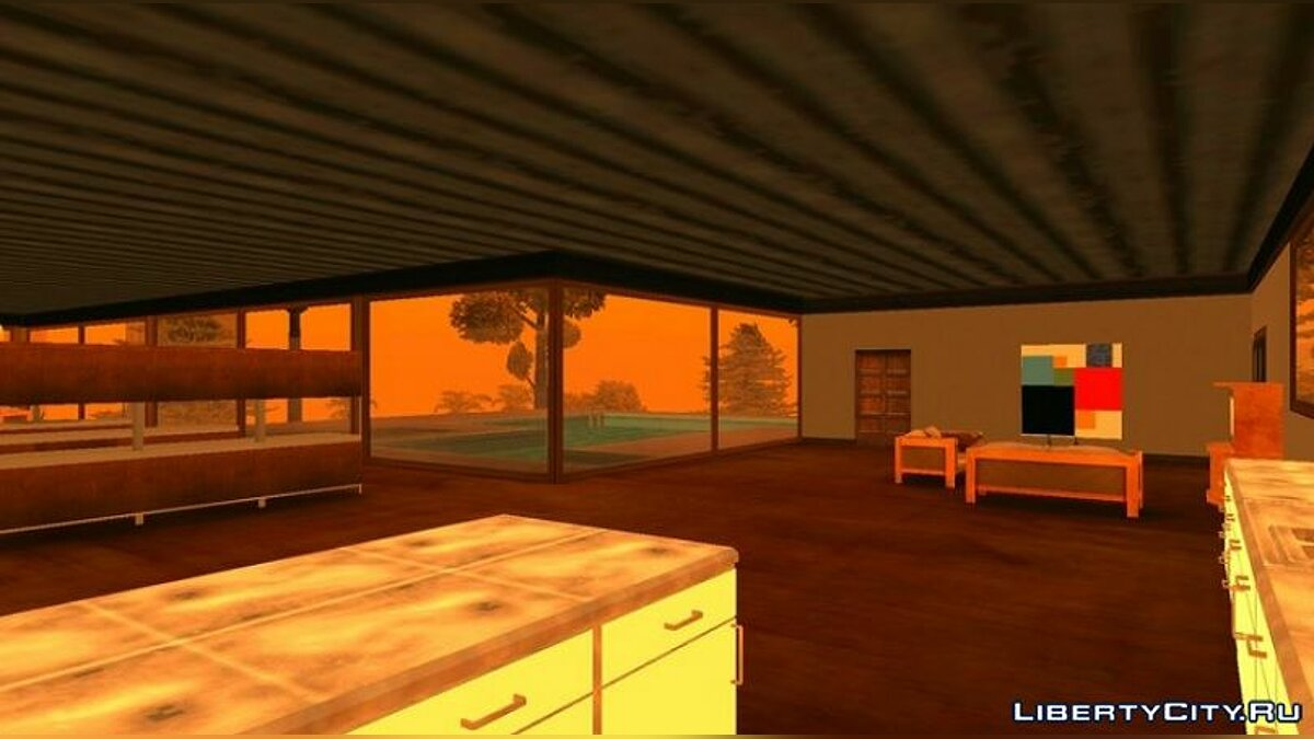 Mod House in Mulholland from beta for GTA San Andreas (iOS, Android)