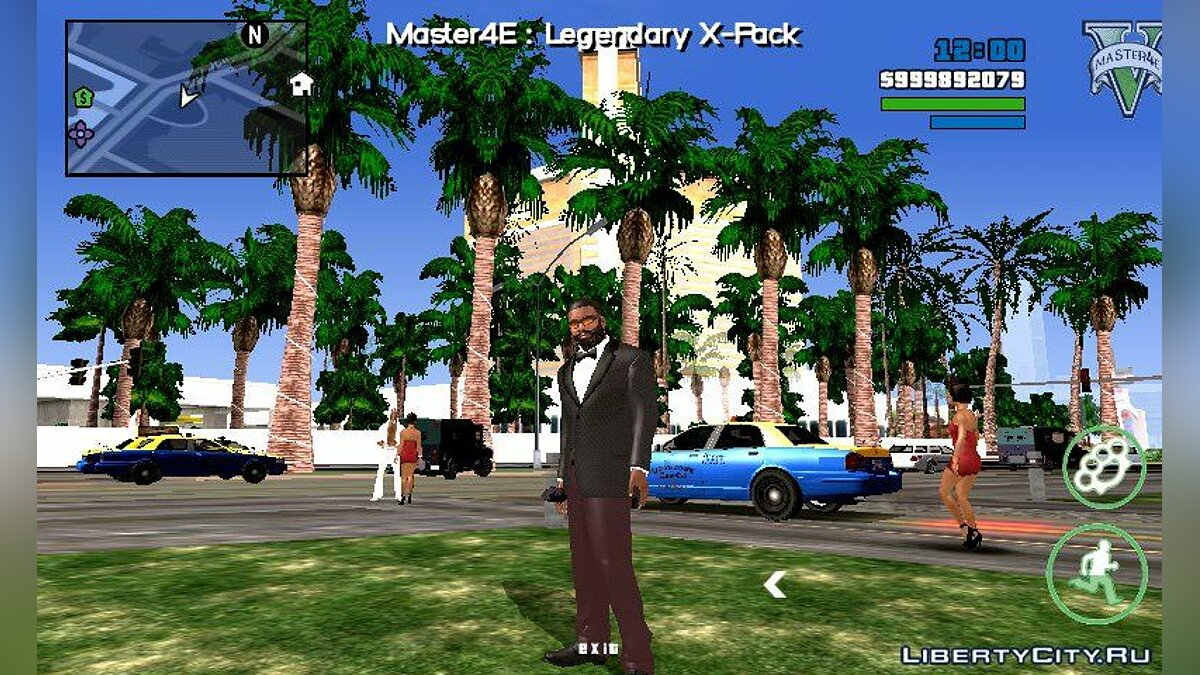 Mod New high quality vegetation for GTA San Andreas (iOS, Android)