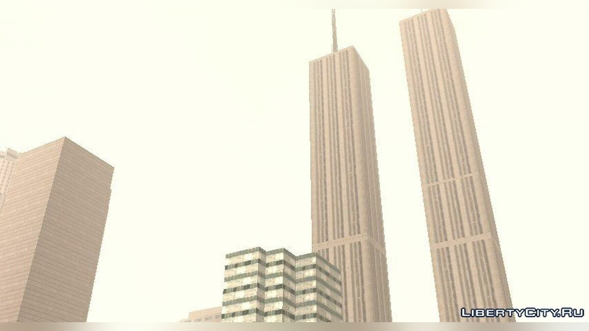 Twin Towers for GTA San Andreas (iOS, Android) - Картинка #1