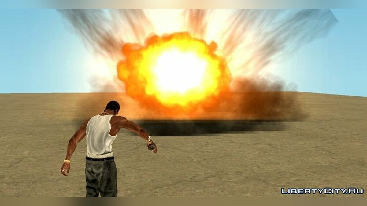 Mod Combat Upgrade FX - realistic effects for GTA San Andreas (iOS, Android)