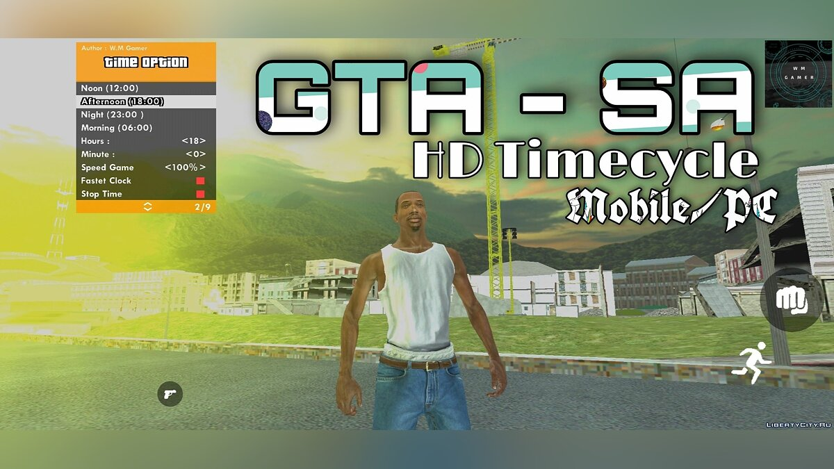 Mod HD Timecycle (Enhanced Graphics) for GTA San Andreas (iOS, Android)