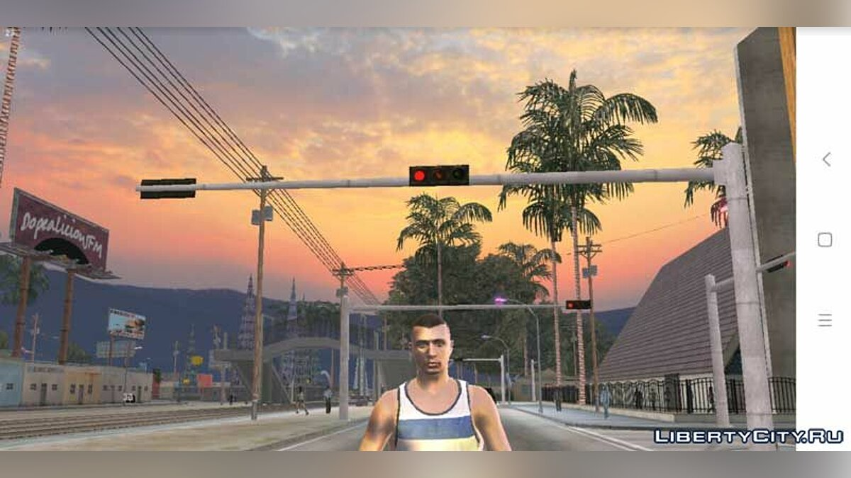 Mod Realistic sky 4K HD for GTA San Andreas (iOS, Android)