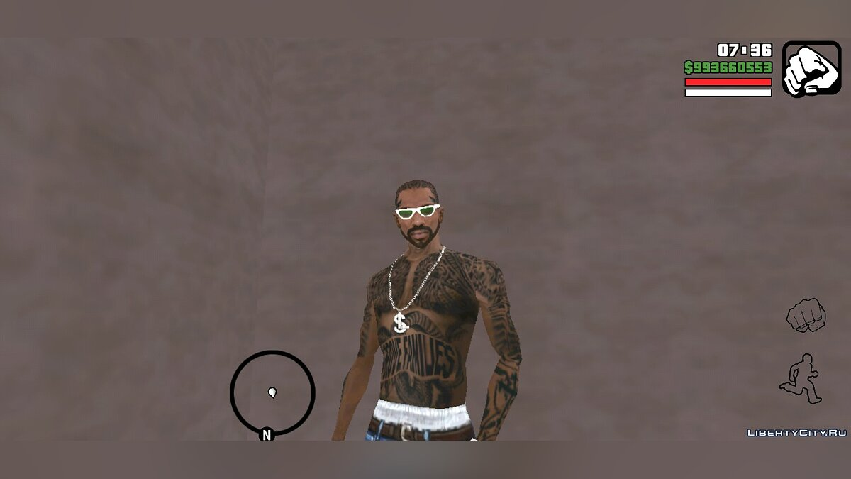 Tattoos New tattoos for Cj for GTA San Andreas (iOS, Android)
