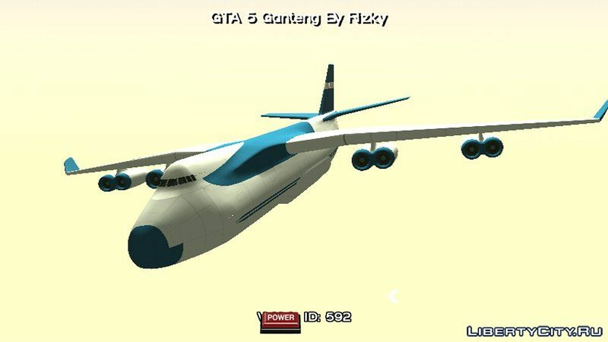 Planes and helicopters Aircraft from GTA 5 for GTA San Andreas (iOS, Android)
