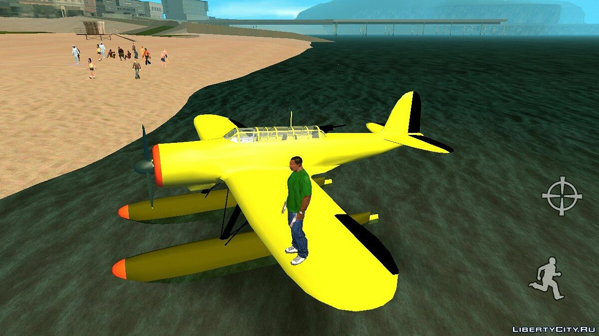 Planes and helicopters Aichi E13A Jake (DFF only) for GTA San Andreas (iOS, Android)