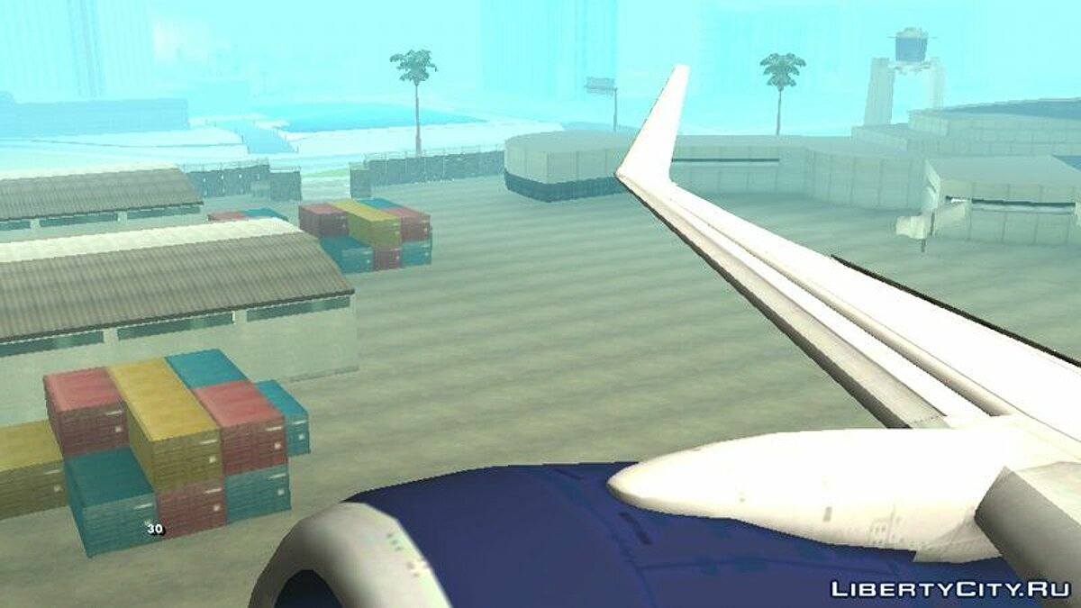 Planes and helicopters B737-800 Delta Airlines for GTA San Andreas (iOS, Android)