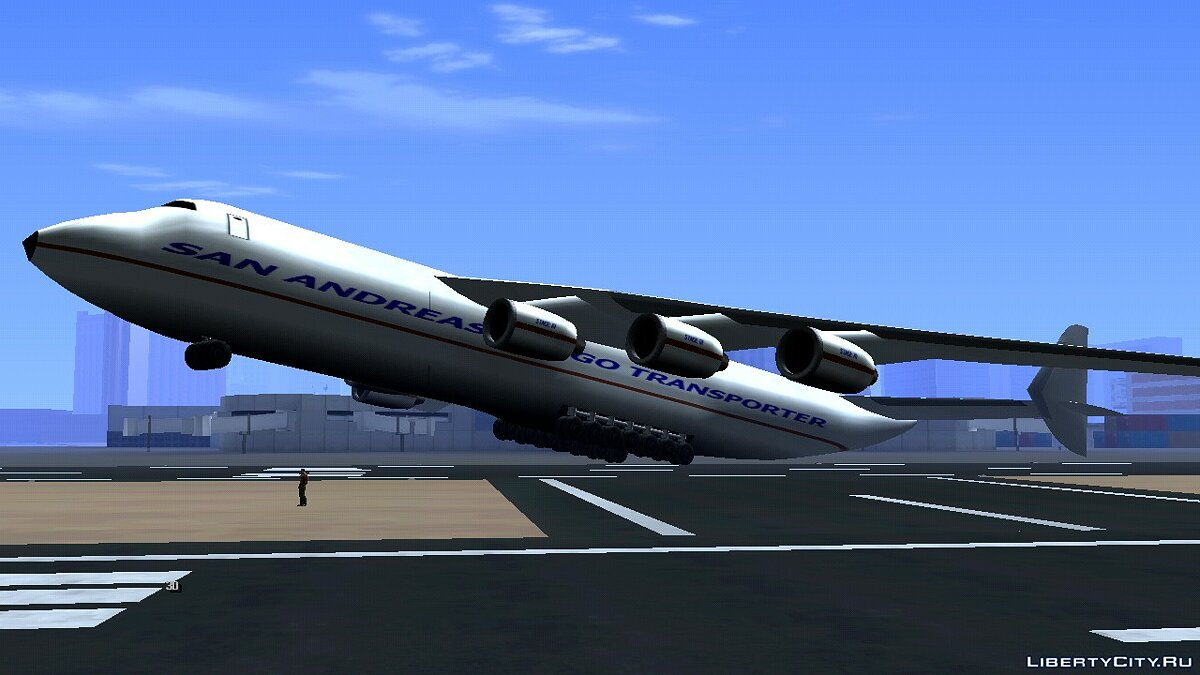 Planes and helicopters Antonov LQ for GTA San Andreas (iOS, Android)