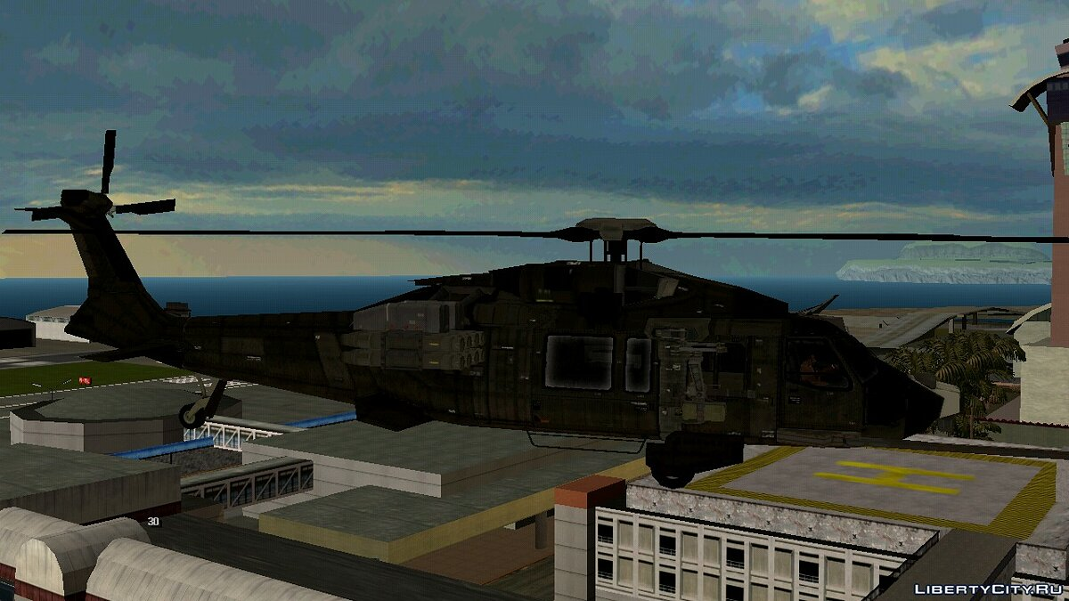 Planes and helicopters Uth-66 Blackfooot for GTA San Andreas (iOS, Android)