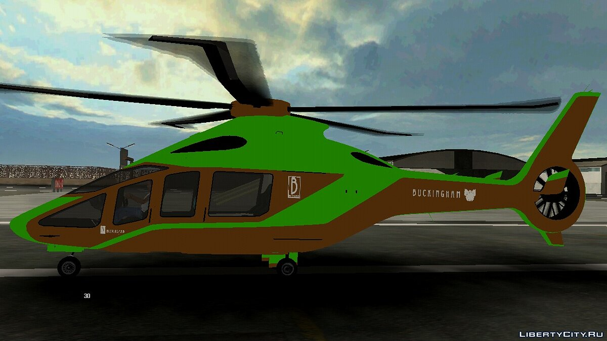 Planes and helicopters Helicopter for GTA San Andreas (iOS, Android)