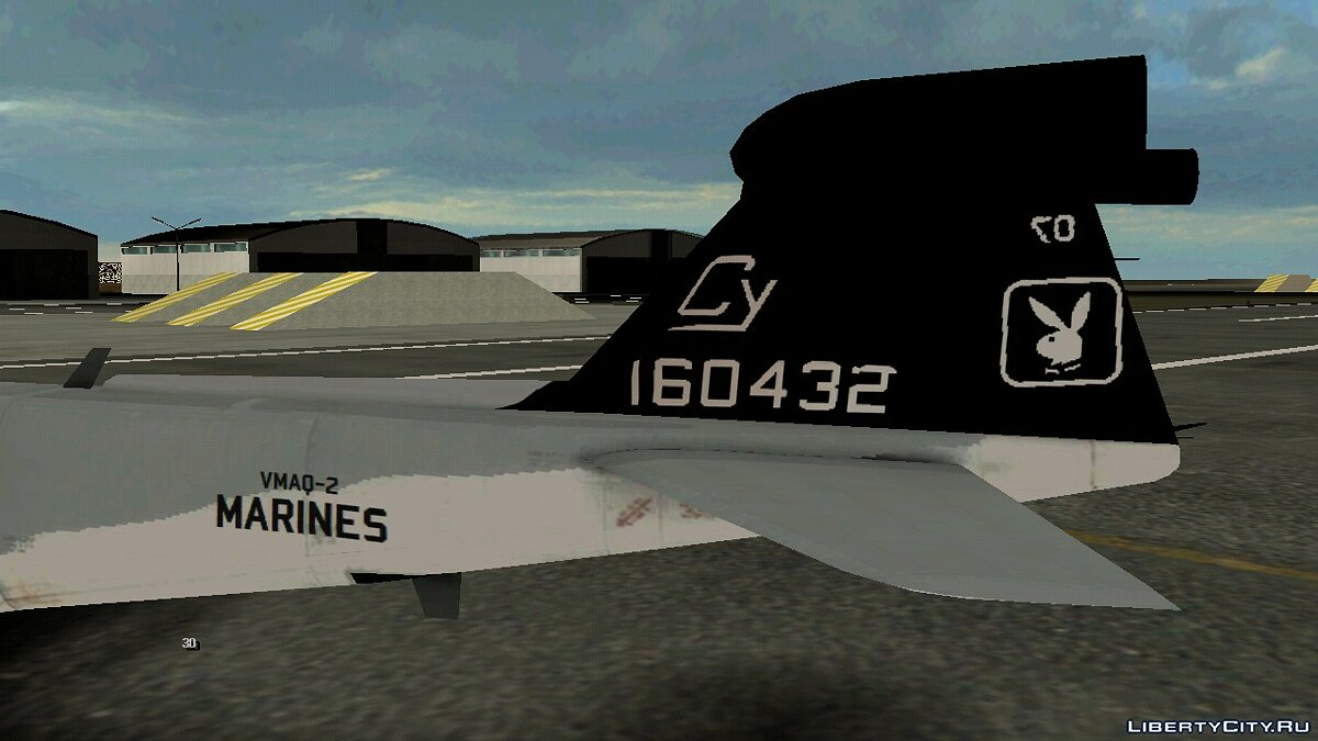 Planes and helicopters Pegatina USMC for GTA San Andreas (iOS, Android)