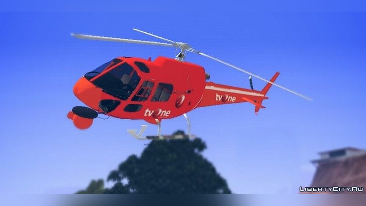 Planes and helicopters Indonesia News Helicopter for GTA San Andreas (iOS, Android)